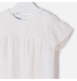Mayoral Mayoral   Embroidered Chiffon Blouse