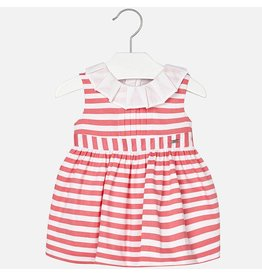 Mayoral Mayoral | Striped Satin Baby Dress