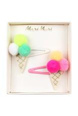 Meri Meri Pom Pom Ice Cream Hair Slides