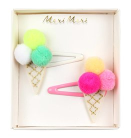 Meri Meri Meri Meri | Pom Pom Ice Cream Hair Slides