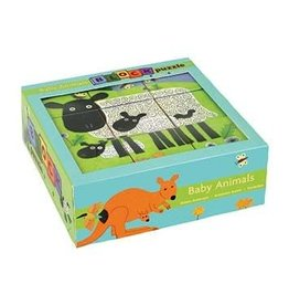 Puzzle Block: Baby Animals
