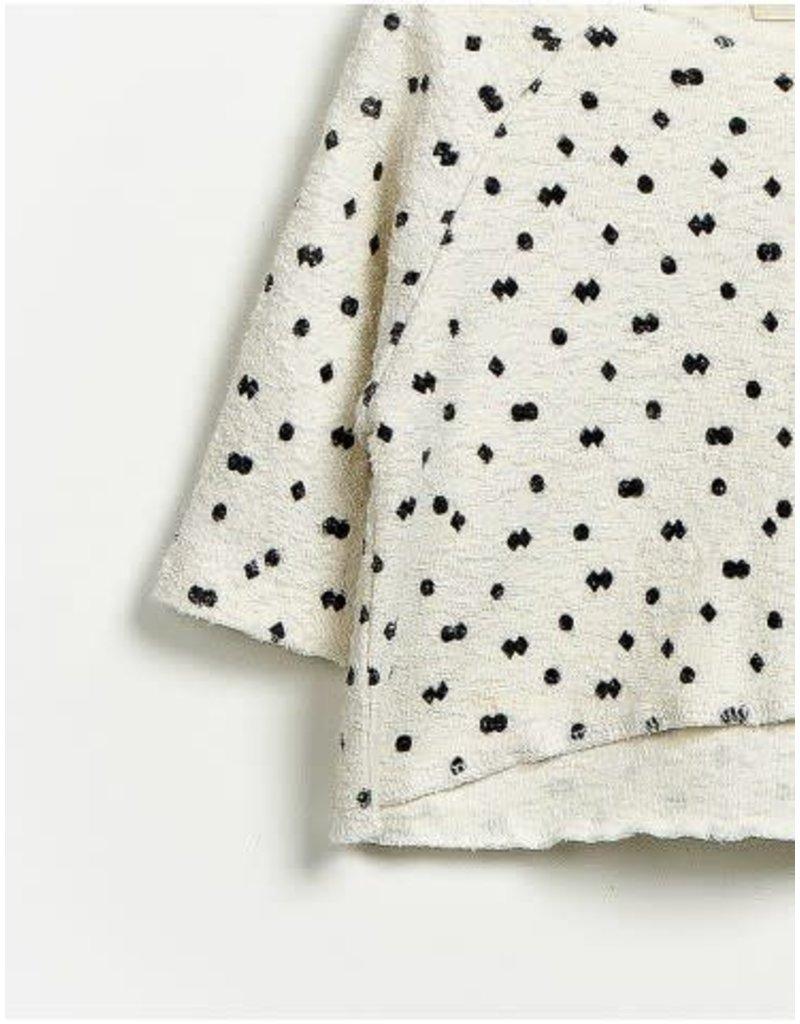 Play Up Diamonds & Dots Textured Top