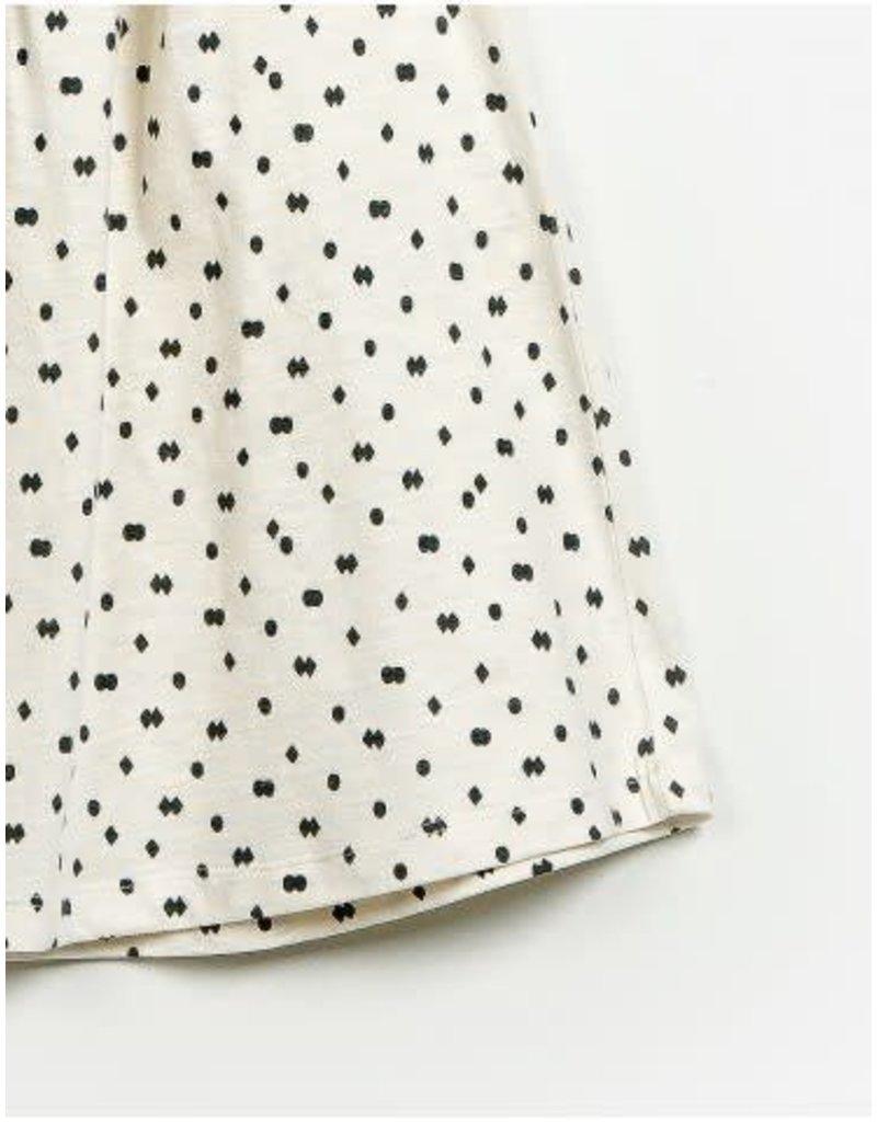 Play Up Diamonds & Dots Ruffle Dress