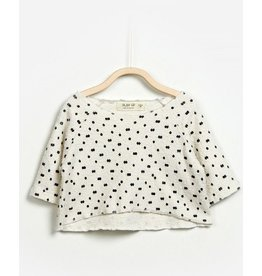 Play Up Play Up|Diamonds & Dots Textured Top