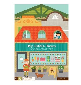 Petit Collage Petit Collage Sticker Activity Book   My Little Town