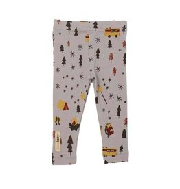 L'oved Baby L'oved Baby | Organic Leggings in Light Grey Camp