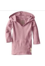 L'oved Baby Organic Hoodie in Mauve
