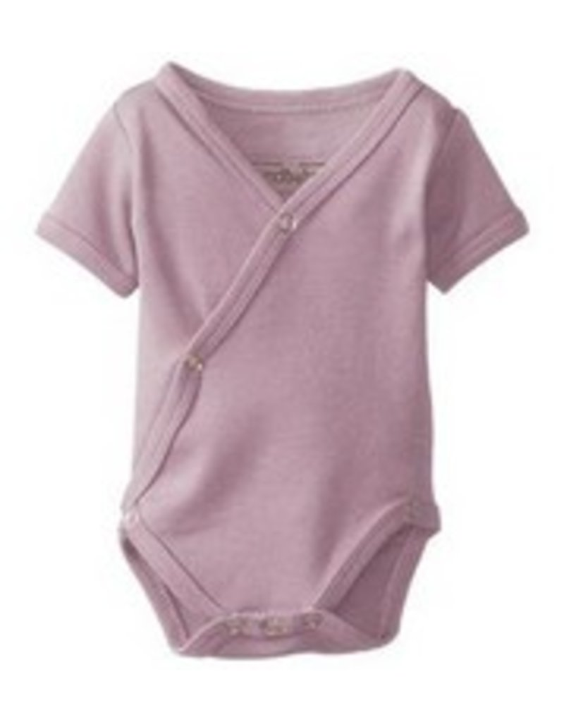 L'oved Baby L'oved Baby | Organic Kimono Bodysuit in Mauve