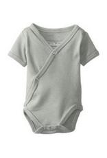 L'oved Baby L'oved Baby | Organic Kimono Bodysuit in Light Grey