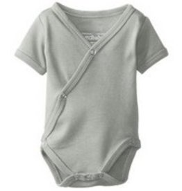 L'oved Baby L'oved Baby | Organic Kimono Bodysuit in Light Grey