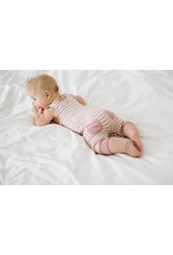 L'oved Baby L'oved Baby | Organic Harem Romper in Mauve
