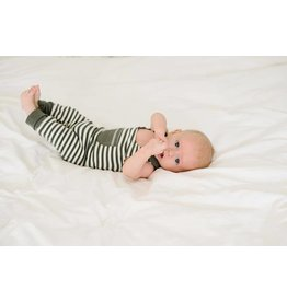 L'oved Baby L'oved Baby | Organic Harem Romper in Grey