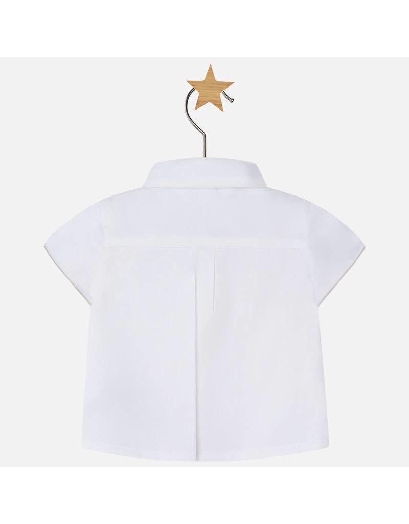 Mayoral Bowtie & Vest Shirt
