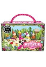 eeBoo Birthday Parade 20pc Puzzle