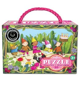 eeBoo Birthday Parade 20pc Puzzle
