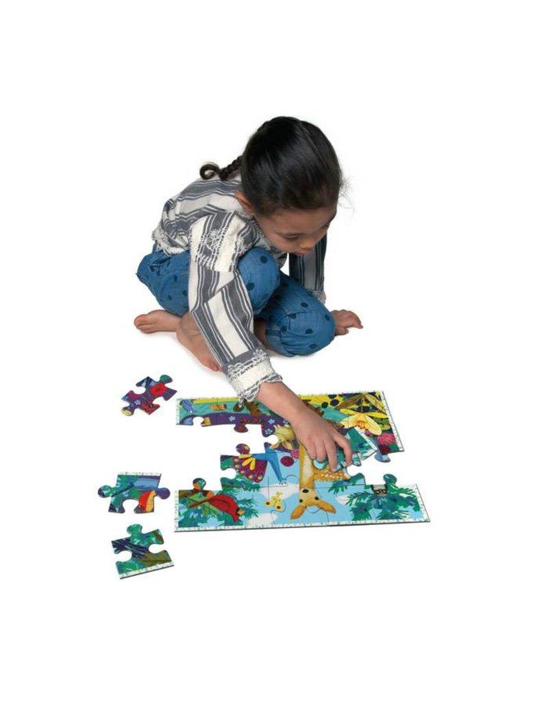 eeBoo Life on Earth 20 Piece Puzzle