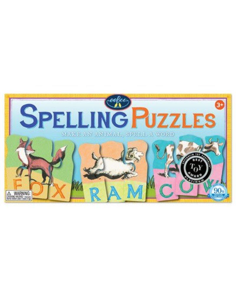 eeBoo eeboo | Animal Spelling Puzzle