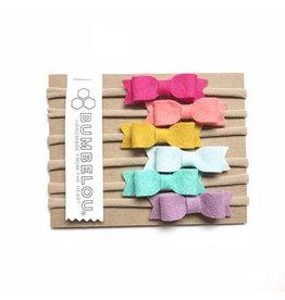 Bumbelou | 6 Mini Bow Headband Set