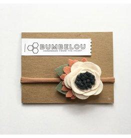 Bumbelou | Linen Flower Headband