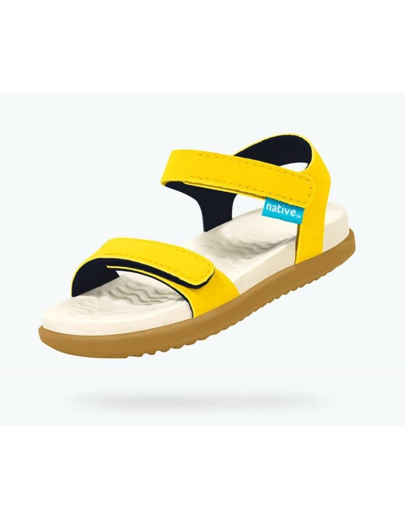 Native Shoes | Charley Sandal in Crayon Yellow