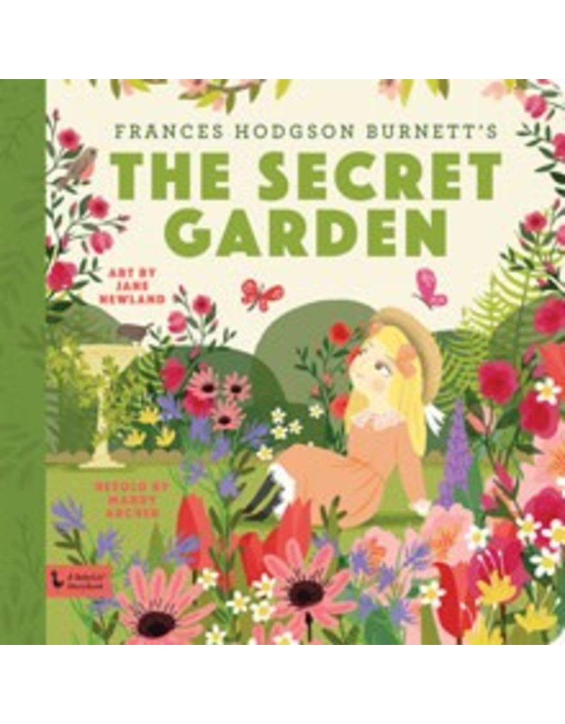 gibbs smith babylit story book the secret garden - The Secret Garden Book