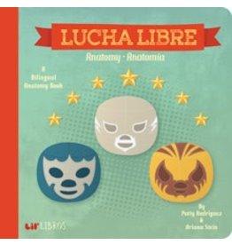 Gibbs Smith Lucha Libre Bilingual Anatomy Book