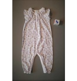 Feather Baby | Bunnies Ruched Romper