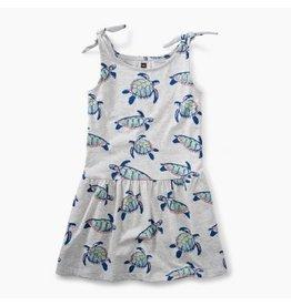 Tea Collection Tea Collection| Sea Turtle Tie Shoulder Dress