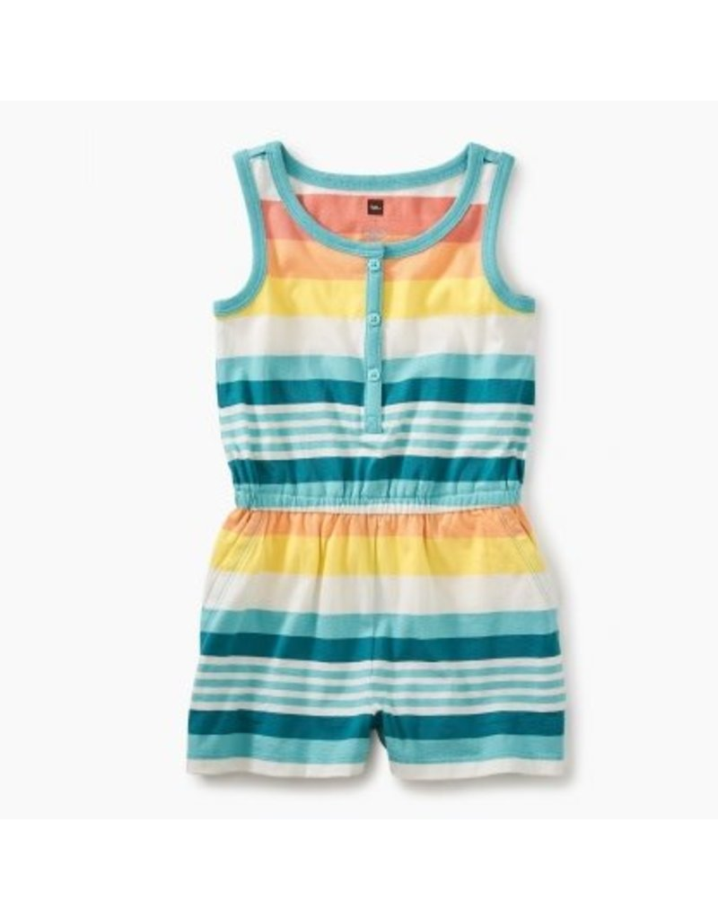 Tea Collection Tea Collection| Citrus Stripe Romper