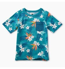 Tea Collection Tea Collection| Tropical Palm Pocket Tee