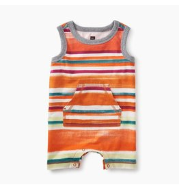 Tea Collection Tea Collection| Sunrise Stripe Tank Romper
