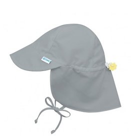 I Play i Play | Gray Neck Flap Sun Hat