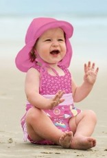 I Play i Play | Pink Neck Flap Sunhat