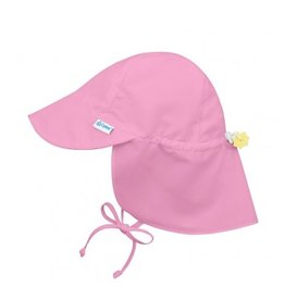 I Play i Play | Pink Neck Flap Sun Hat