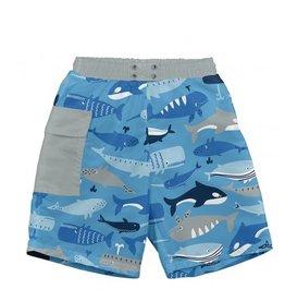 I Play i Play | Blue Whale Swim Diaper Trunks