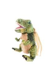 Cole | Soft Dinosaur Backpack Green