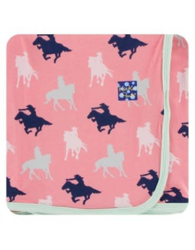 Kickee Pants Kickee Pants|Swaddling Blanket, Strawberry Cowgirl
