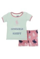 Kickee Pants Kickee Pants|Short Sleeve Pajama Set W/ Shorts
