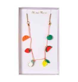 Meri Meri Meri Meri | Fruit Enamel Charm Necklace