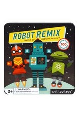 Petit Collage Petit Collage|Robot Remix On-The-Go Magnetic Play Set