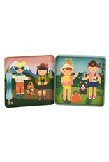 Petit Collage Petit Collage|Little Travelers On-The-Go Magnetic Play Set