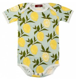 Milkbarn Kids Milkbarn | Lemon Bodysuit (Organic)