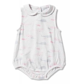 Angel Dear Angel Dear | Confetti Whales Sunsuit