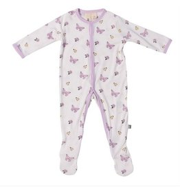 Kyte Baby Kyte Baby | Butterfly Printed Footie