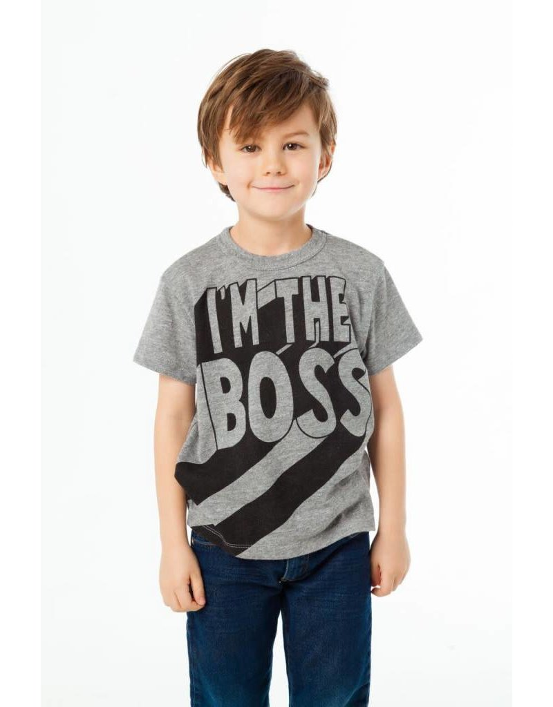 Chaser Chaser   I'm the Boss Tee