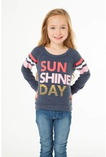 "Chaser Chaser |""Sun Shine Day"" Knit Top"