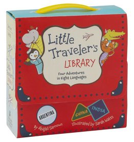 Little Traveler's Library | Four Adventures in Eight Languages