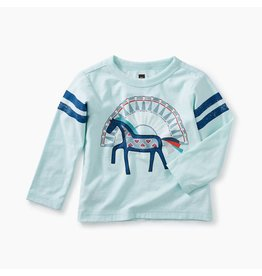 Tea Collection Tea Collection | Dakota Horse Graphic Baby Tee