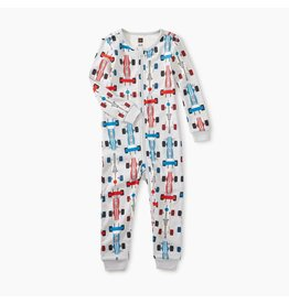 Tea Collection Tea Collection | Race Car Baby Pajamas