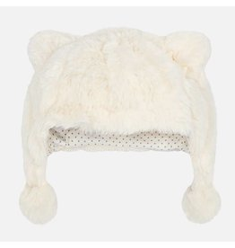 Mayoral Mayoral | Faux Fur Bear Hat